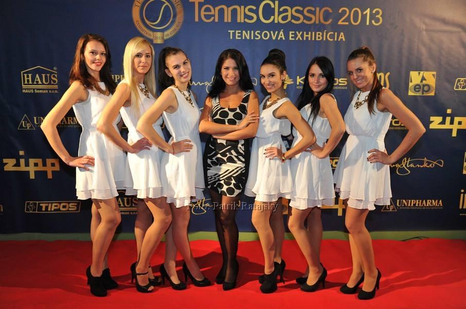 tennis exhibition
